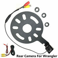 Waterproof Reversing Backup Rear View Camera Spare Tire Mount For Jeep Wrangler
