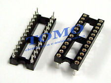 Zoccolo DIP24 tornito THT 24 pin code GOLD-24P-W
