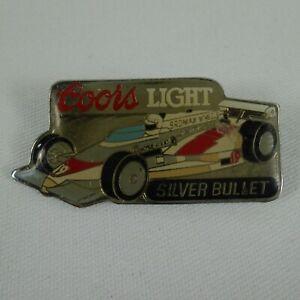 1983 Al Unser Jr #19 Coors Light Silver Bullet Galles Roman Racing Collector Pin