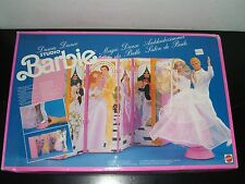 VINTAGE BARBIE 1990 DREAM DANCE BEAUTY SALON SET MATTEL MIB #4165