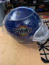 NFL-Tostitos Plastic Football Helmet Chip & Dip Salsa Holder Sealed