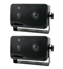 "New PYRAMID 2022SX 3.75"" 200W 3-Way Car Audio Mini Box Car/Inside Home Speakers"