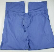 Natural Uniforms Unisex Size 3X Purple Scrub Pants Elastic Drawstring Waist Nwt