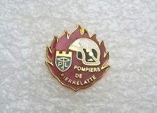 PIN'S PIERRELATTE POMPIER DROME / SAPEURS POMPIERS FIREMEN PINS PIN T12