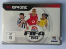 N.GAGE NGAGE  FIFA 2004 FOOTBALL GAME BRAND NEW  NEVER OPENED FACTORY SEALED