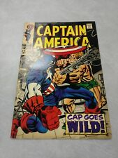Captain America #106 Marvel Comics Silver Age Vintage Stan Lee Jack Kirby 1968