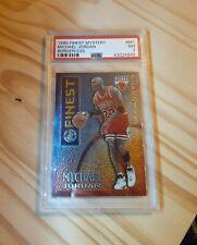 1995-96 Topps Finest Michael Jordan Mystery Borderless #M1 PSA 7 Nm