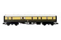 Dapol 2P-000-310 N Gauge Collett Coach GWR Crest Chocolate/Cream Full Brake 101