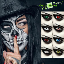 Crazy colored contact lenses halloween vampire zombie werewolf costume contacts