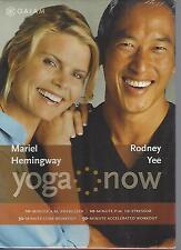 Yoga Now (DVD, 2005, 4-Disc Set) Mariel Hemingway, Rodney Yee