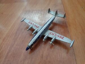 SCHABAK 1:600 KLM FLYING DUTCHMAN LOCKHEED L-1049 DIECAST AIRCRAFT PLANE