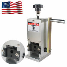 Manual Copper Wire Stripping Machine Hand Crank Drill Operated Cable Stripper CE