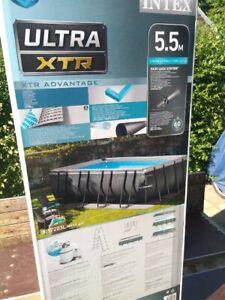 NEU Intex Frame Pool Ultra Quadra XTR 549 x 274 x 132 cm