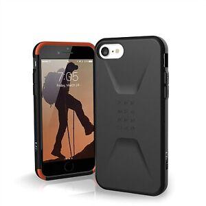 UAG iPhone SE (2020) Case [4.7-in screen] Civilian [Black] Protective Cover