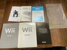 Wii Operations Manual System Setup Pack