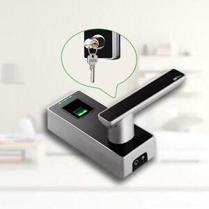 Keyless Entry Door Lock Electronic Biometric Fingerprint for Exterior Front Door