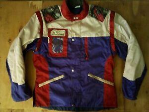 Vintage 80's Rare Trap Racing France Motocross Enduro Jacket Size L