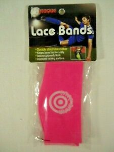 Unique Sports Lace Bands Cleat Lace Covers Neon Pink
