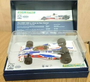 Scalextric Legends C3414A McLaren M23 Tony Trimmer Ltd Edition NEW