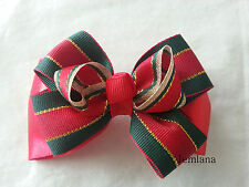 Jemlana's handmade Christmas hair clip for girls..