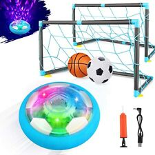Indoor Sports Rechargeable Hover Soccer Ball Set Toys For Boys Girls 3 4 5 6 7+