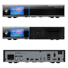 ► GigaBlue UHD Quad 4K 2xDVB-S2 FBC Twin Tuner CI LAN PVR E2 Linux 2160P NEU OVP