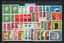 BRD: Lot 50er-Jahre postfrisch auf voller Steckkarte (2)