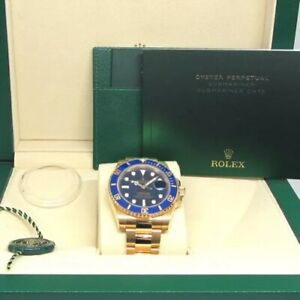 Rolex Submariner 116618LB 18k Gold