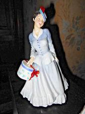 Royal Doulton Midinette HN2090~Bone China~ Hat Box Lady Beautiful Early Lady~A1