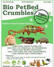 Bio Pet Bed Coco Brique Reptile lapin Tarantula Chat Tortue Lézard Literie 650 g