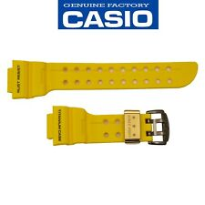 CASIO G-SHOCK 30th Anniv. FROGMAN Watch Band Strap GWFT-1030E-9 Yellow Rubber
