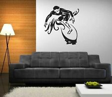 Extreme surfer vinyl sticker surfboard surfing wall vehicle man cave decor decal