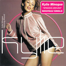 """CD SP 2T KYLIE MINOGUE """"SPINNING AROUND"""""""