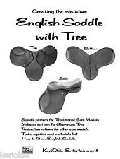 Make Miniature English Saddles with Tree!