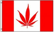 3'x5' Canada Marijuana Leaf Flag Canadian Pot Weed Joint Spiff Liberalize 3X5
