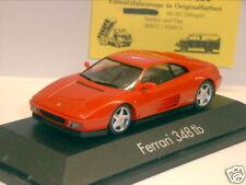 Herpa 1010: Ferrari 348 tb, rot, 1:43   (1209)