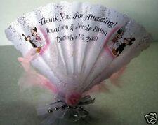Mickey Minnie ,Wedding, Shower Fan Folded Party Favors