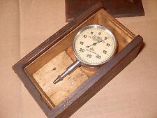 """'Reliable' C E Johansson Ltd Dial Clock / Gauge 1-1000"""" - As Photo"""