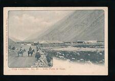 Chile VALLE PUNTA DE VACAS Viaje Cordillera No29 c1900s u/b PPC