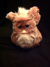 2005 2006 EmotoTronic FURBY Brick Red Beige tan, Blue Eyes EUC RARE Works Great