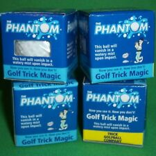 4x Phantom Water Mist Golf Ball Trick Gag Gift Prank