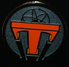 Disney Parks 2015 Tomorrowland Movie Logo Pin NEW ON ORIGINAL CARD