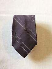 Men's Neck Tie by Van Heusen ~ Poly / Silk ~ 56 1/2 x 3 ~ Diagonal Stripes