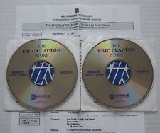 The ERIC CLAPTON Story Westwood One #94-43 2xCD RADIO SHOW + Cues CREAM Blues