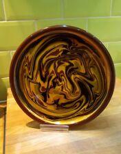 Vintage  John Pollex studio pottery  Slipware Earthenware plate