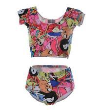 Woman Swimsuit 2 piece set bikini set Adventure Time  printed swimwear bikini