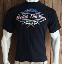Carquest Men's Large Tshirt Vintage 90's Auto Parts Sets The Pace Short Sleeve