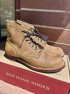 NEW Red Wing 8083 Iron Ranger Heritage Boots Hawthorne Muleskinner Size 9.5 D
