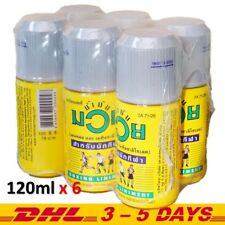 Namman Muay Thai boxing Oil Kick Liniment Muscular Pain massage LOT of 6 : 120cc