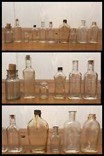 11 Medicine Bottles Glass Pharmacy LB Lab Hollywood McCormick McCampbell Antique